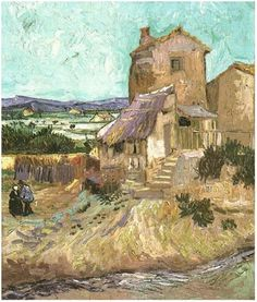 The Old Mill by Vincent Van Gogh. Impressionism by Vincent Van Gogh. Van Gogh paintings are studies in color. Be inspired by his art to help you understand how to put a paint color scheme together. Van Gogh Pinturas, Vincent Van Gogh, Art Van, Desenhos Van Gogh, Van Gogh Arte, Art Gallery, Van Gogh Paintings, Paintings Famous, Dutch Painters
