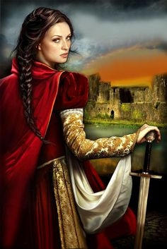 Cover for Lady at Arms by Tamara Leigh. Originally this book had the title Warrior Bride.