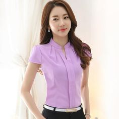 Looking for a gift? Start here 👉  Chiffon blouses New 2017 Fashion Summer http://stylashion.com/products/chiffon-blouses-new-2017-fashion-summer-slim-women-chiffon-shirt-elegant-solid-color-short-sleeve-women-tops-plus-size-blusas?utm_campaign=crowdfire&utm_content=crowdfire&utm_medium=social&utm_source=pinterest