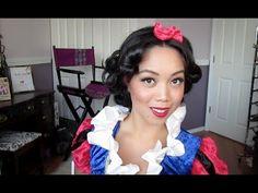 Snow White Hair Tutorial - Drugstore - It's Judy Time Beauty Advice, Beauty Hacks, Love Makeup, Hair Makeup, Snow White Hair, Halloween Makeup, Halloween Ideas, Disney Hair, Hair Skin Nails