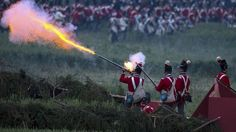 Napoleon defeated in Waterloo battle re-enactment - BBC News