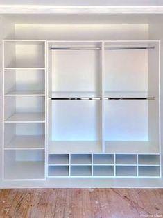 Super built in wardrobe storage layout shoe racks Ideas Bedroom Closet Design, Master Bedroom Closet, Closet Designs, Diy Bedroom, Small Closet Design, Walk In Closet Small, Small Closet Storage, Bedroom Closet Storage, Closet Wall