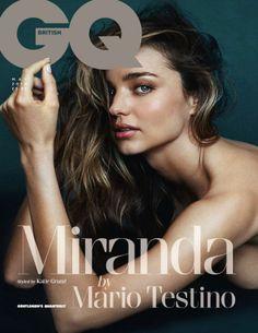 Cover GQ UK May 2014 Feat Miranda Kerr by Mario Testino