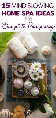 If you're looking for some at home pampering, these awesome home spa ideas are guaranteed to give you some easy tips you can use to create your own home spa.