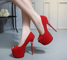 Cheap women high heel pumps, Buy Quality women pumps directly from China high heel pumps Suppliers: extreme high heels red wedding shoes women platform heels shoes woman high heel pumps women summer party shoes women pumps Extreme High Heels, Red High Heels, Sexy Heels, High Heel Pumps, Womens High Heels, Women's Pumps, Platform Shoes Heels, Peep Toe Platform, Red Wedding Shoes