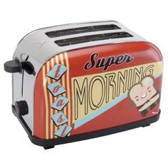 Idée cadeau crémaillère, le toaster Crazy Diner - La Chaise Longue