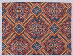 CanvasWorks PO130KP Moroccan Kidney Pillow Hand Painted Needlepoint Canvas