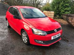 c26a67e1ba eBay  2011 VOLKSWAGEN POLO MATCH TDI RED SPARES OR REPAIR