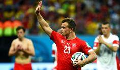 FIFA World Cup 2014 (Match 44) - Honduras vs Switzerland. Switzerland beat Honduras 3-0 in early hours of 26/06/2014