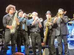 E street horns. Jake, Barry, Curt, Ed, Clark