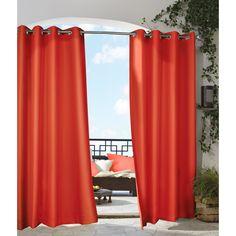 Commonwealth Outdoor Decor Gazebo Grommet Curtain Panel - 31505008314