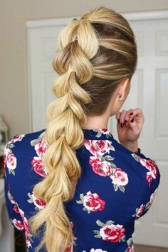 Fabulous Ideas of Braids for Long Hair to Try ★ See more: lovehairstyles.co...