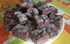 Makovo višňový koláč