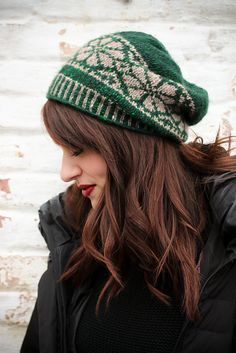Ravelry: Nordic Fair Isle Slouch Hat pattern by Tanis Gray