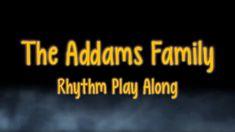 Addams Family Theme - Rhythm Play Along Music Activities, Educational Activities, Teaching Music, Teaching Reading, Autumn Music, Halloween Music, Family Theme, Elementary Music, Music Classroom