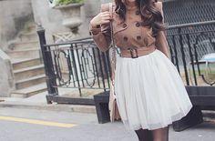 Such a cute pairing: longsleeve button with high waist skirt. Cute Korean Fashion, Cute Fashion, Asian Fashion, Fashion Ideas, Fashion Inspiration, New Trend Dress, Kpop Mode, Cute Jackets, Just Girl Things