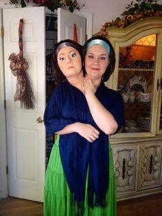 Halloween 2014 Bette and Dot American Horror Story Freakshow Costume #AHS #Freakshow #BetteandDot