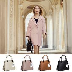 Idei de ținute cu DiAmanti. DiAmanti. Italian Leather Bags. #ootd#fashion#italianleather#geantadama#pielenaturala Duster Coat, Jackets, Fashion, Diamond, Down Jackets, Moda, Fashion Styles, Fashion Illustrations, Jacket