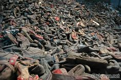 Auschwitz, Poland.HAS TO BE SEEN IN PERSON TO RECOGNIZE THE MAGNITUDE OF THE HORROR