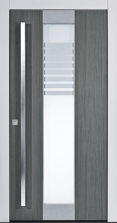 Pieno Haustürmodell Bozen mit Keramik auf der Außenseite! Besonders widerstandsfähige Haustüre. Jetzt auch bei Fenster-Schmidinger aus Gramastetten in Oberösterreich erhältlich.   www.fenster-schmidinger.at  #Haustüre #Bozen #Keramik #Grau