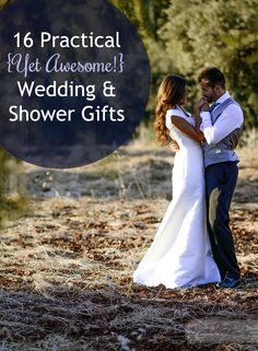 16 Practical {Yet Awesome!} Wedding & Shower Gifts. My newlywed daughter highly recommends restaurant gift cards! They're a built-in date night... particularly helpful when you're on a tight budget. :-)