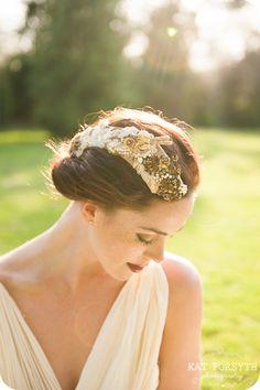 Enchanting bridal headwear from Ellsewhere Bride