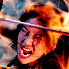 Kira the badass Kitsune (AKA: One of the coolest Teen Wolf characters) SHE HAD BETTER BE BACK TO SAVE ALL THEIR ARSES, JEFF!!!