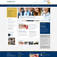 Academica Pro is a modern, flexible and responsive WordPress theme with numerous custom page templates. Great for education websites, such as universities, schools, colleges, but will also fit just any business-oriented website.
