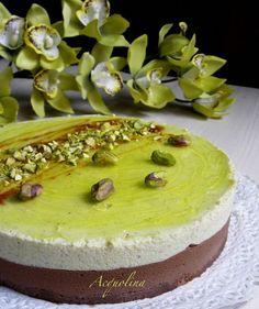 Bavarese pistacchio cioccolato