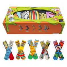 KIX & LIDZ: ODD SOX: The Nick Box...After releasing the exclusive Nick Box at Footaction locations nationwide Odd Sox has finally made box available on their website! Supplies are super limited on this box so get yours while you can.