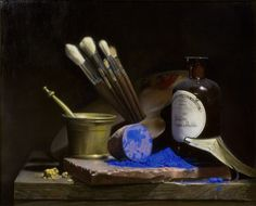 Anthony Velasquez The Artist's Assistant OIl on canvas, 45 x 55 cm Still Life 2, Still Life Drawing, Painting Still Life, Be Still, Rembrandt, Let's Make Art, Still Life Artists, Classical Realism, Hyperrealism