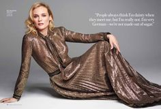 Diane Kruger for InStyle Your Look 2014