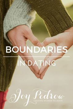 #NEWPOST Have you ever experienced the back and forth change of setting physical boundaries in a dating relationship? _ JoyPedrow,com
