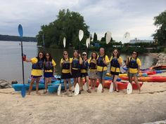 A Retreat to Remember - kicking off the Some Nerve Retreat with #Kayaking across the Hudson River!