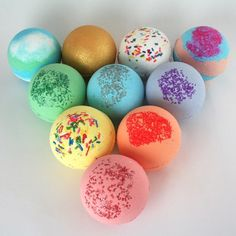 Pure Aromatherapy Fizzers With 6 Calming Scents Beautiful In Colour Glorious Bath Bombs Set Gift For Women Bath & Body Bath Bombs & Fizzies
