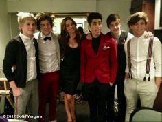 I love One Direction and Sofia Vergara! :)
