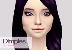 My Sims 4 Blog: Dimples by SevenhillsSims