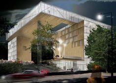 Hotel Liesma Winning Proposal / Ventura Trindade Architects,Courtesy of Ventura Trindade Architects
