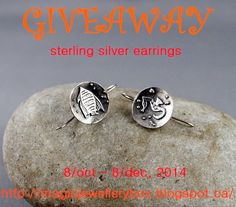 Jewelry Designer Blog. Jewelry by Natalia Khon: Giveaway of sterling silver earrings