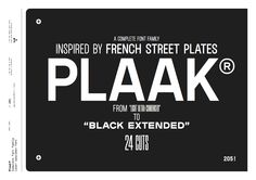 Plaak by Editions 205