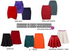 Ako vybrať sukňu podľa telesného tvaru