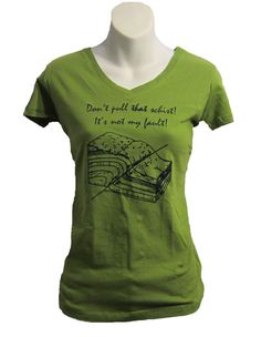 Geology Pun Screenprinted tshirt  Geology by FragglesAndFriggles, $20.00. This is a must have!