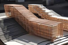 First Place Wood Model Competition 2012 / Universidad Finis Terrae