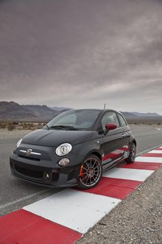 2012 Fiat 500 Abarth. Laugh all you want, but this just became my dream car.