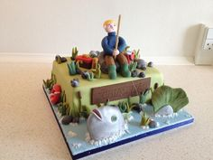 Fishing birthday cake | Flickr - Photo Sharing!