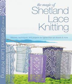 Shetland Lace Knitting - Вязание для женщин спицами. Схемы вязания спицами