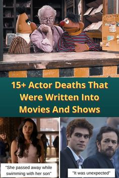 As actors are real people, their real-life events are often written into the shows or movies they're working on.