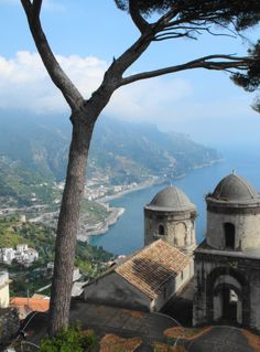 This is the brilliant view from the Villa Rufolo, in Ravello on the Amalfi Coast, just beautiful