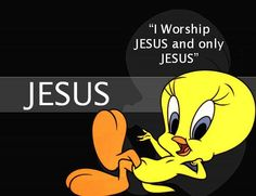 I WORSHIP JESUS AND ONLY JESUS