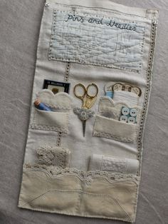 Sewing Case (inside) ~ by gentlework: busy fingers...
